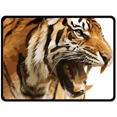Royal Tiger National Park Fleece Blanket (large)