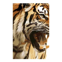 Royal Tiger National Park Shower Curtain 48  X 72  (small)