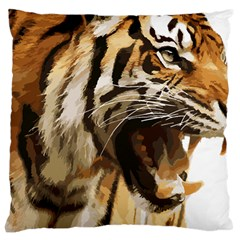 Royal Tiger National Park Large Cushion Case (two Sides)