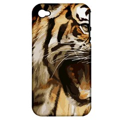 Royal Tiger National Park Apple Iphone 4/4s Hardshell Case (pc+silicone)