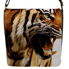 Royal Tiger National Park Flap Messenger Bag (s)
