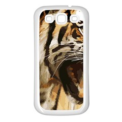 Royal Tiger National Park Samsung Galaxy S3 Back Case (white)