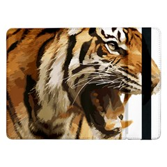Royal Tiger National Park Samsung Galaxy Tab Pro 12 2  Flip Case