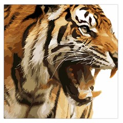Royal Tiger National Park Large Satin Scarf (square)