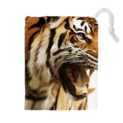Royal Tiger National Park Drawstring Pouches (extra Large)