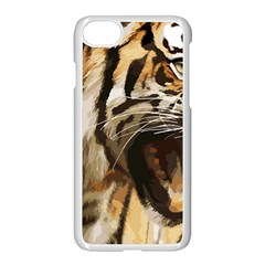 Royal Tiger National Park Apple Iphone 7 Seamless Case (white)