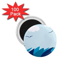 Sea 1 75  Magnets (100 Pack)