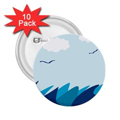 Sea 2 25  Buttons (10 Pack)