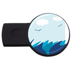 Sea Usb Flash Drive Round (2 Gb)