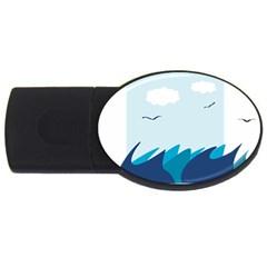 Sea Usb Flash Drive Oval (2 Gb)