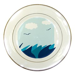 Sea Porcelain Plates