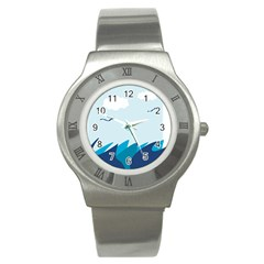Sea Stainless Steel Watch