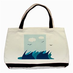 Sea Basic Tote Bag
