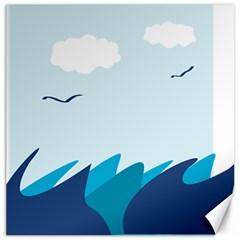 Sea Canvas 12  X 12