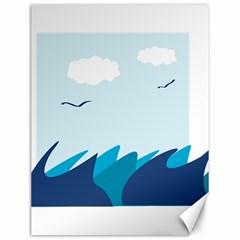 Sea Canvas 12  X 16