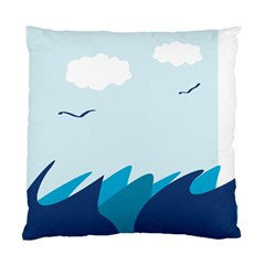 Sea Standard Cushion Case (two Sides)