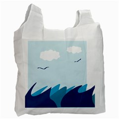 Sea Recycle Bag (one Side)