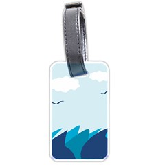 Sea Luggage Tags (two Sides)