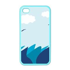 Sea Apple Iphone 4 Case (color)