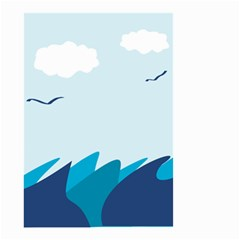 Sea Small Garden Flag (two Sides)