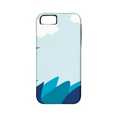 Sea Apple Iphone 5 Classic Hardshell Case (pc+silicone)