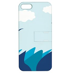 Sea Apple Iphone 5 Hardshell Case With Stand