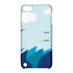 Sea Apple Ipod Touch 5 Hardshell Case With Stand