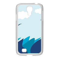 Sea Samsung Galaxy S4 I9500/ I9505 Case (white)
