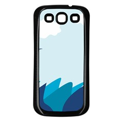Sea Samsung Galaxy S3 Back Case (black)