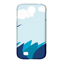 Sea Samsung Galaxy S4 Classic Hardshell Case (pc+silicone)