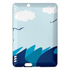 Sea Kindle Fire Hdx Hardshell Case