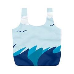 Sea Full Print Recycle Bags (m)