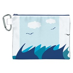 Sea Canvas Cosmetic Bag (xxl)