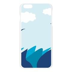 Sea Apple Seamless iPhone 6 Plus/6S Plus Case (Transparent)
