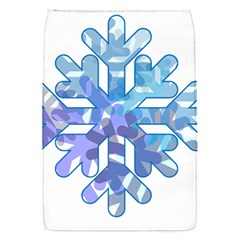 Snowflake Blue Snow Snowfall Flap Covers (s)
