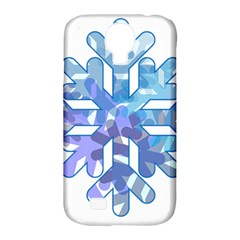 Snowflake Blue Snow Snowfall Samsung Galaxy S4 Classic Hardshell Case (pc+silicone)