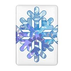 Snowflake Blue Snow Snowfall Samsung Galaxy Tab 2 (10 1 ) P5100 Hardshell Case