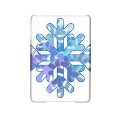 Snowflake Blue Snow Snowfall Ipad Mini 2 Hardshell Cases