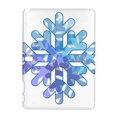 Snowflake Blue Snow Snowfall Galaxy Note 1