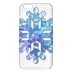 Snowflake Blue Snow Snowfall Iphone 6 Plus/6s Plus Tpu Case