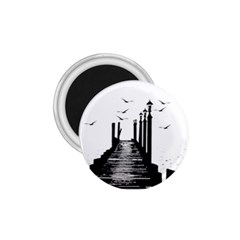 The Pier The Seagulls Sea Graphics 1 75  Magnets