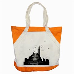 The Pier The Seagulls Sea Graphics Accent Tote Bag