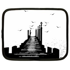 The Pier The Seagulls Sea Graphics Netbook Case (xl)