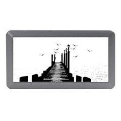 The Pier The Seagulls Sea Graphics Memory Card Reader (mini)