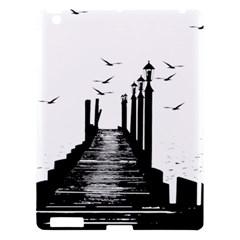 The Pier The Seagulls Sea Graphics Apple Ipad 3/4 Hardshell Case