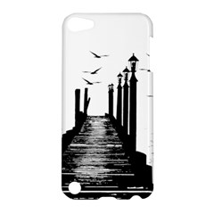 The Pier The Seagulls Sea Graphics Apple Ipod Touch 5 Hardshell Case