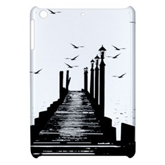 The Pier The Seagulls Sea Graphics Apple Ipad Mini Hardshell Case
