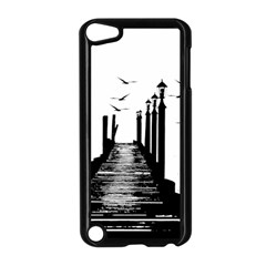 The Pier The Seagulls Sea Graphics Apple Ipod Touch 5 Case (black)