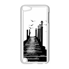 The Pier The Seagulls Sea Graphics Apple Ipod Touch 5 Case (white)