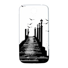 The Pier The Seagulls Sea Graphics Samsung Galaxy S4 I9500/i9505  Hardshell Back Case